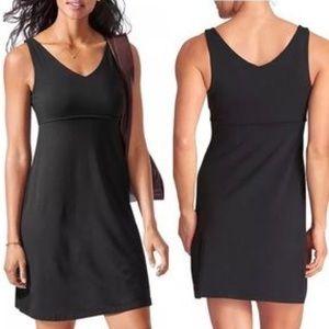 Athleta Santorini 2 V Neck Basic Dress